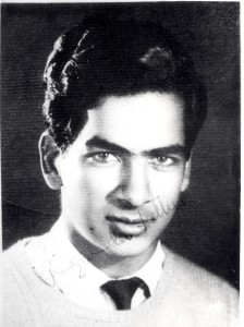 Juginder Luthra in Medical college, circa 1960.