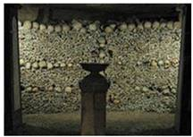 The Catacomb in Paris